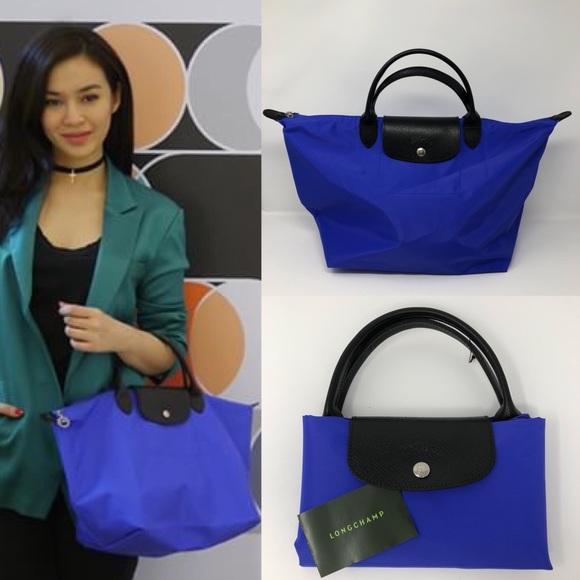 d1a66e2f6dc3 Longchamp Handbags - RARE LONGCHAMP x SARAH MORRIS LE PLIAGE TOTE